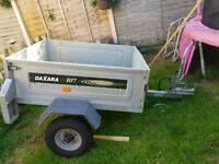 Daxara 107 aluminium trailer