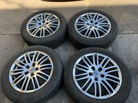"""Rial 16"""" Alloy Wheels and Michelin Tyres"""