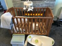 Mothercare Cot and loved so much accessories