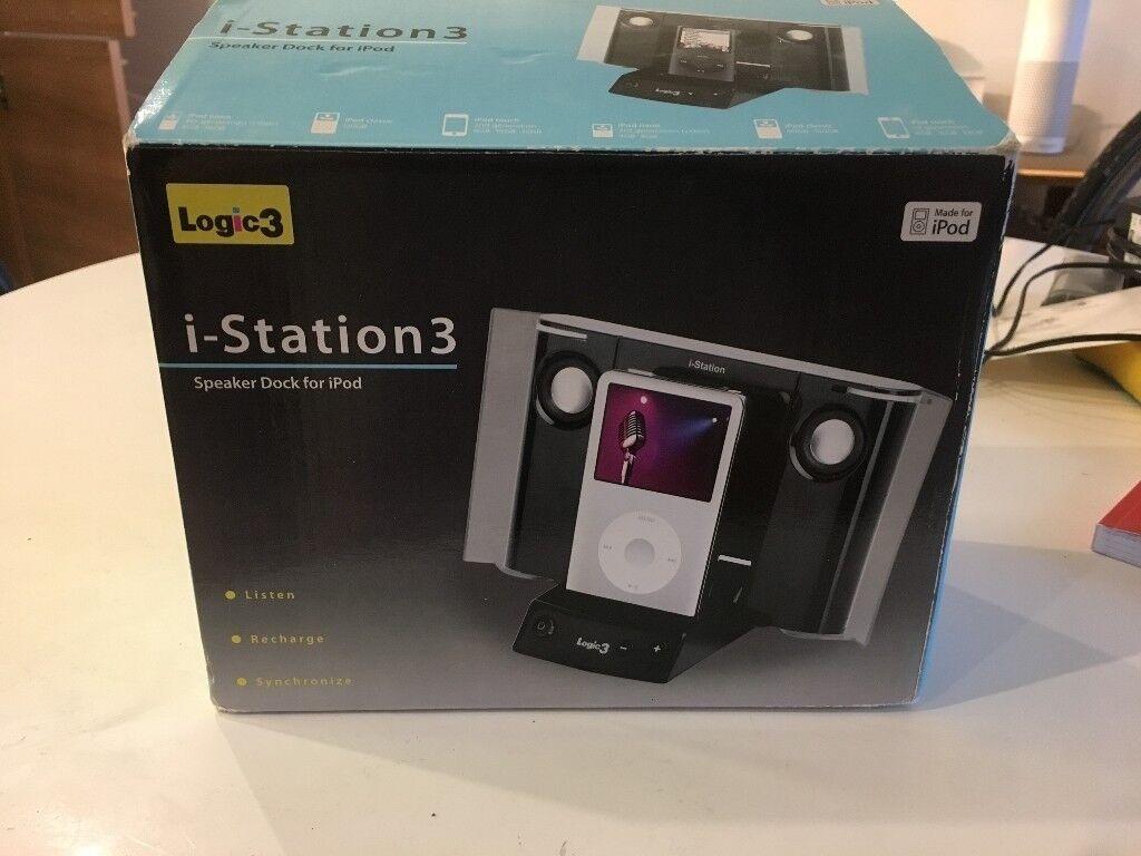 Logic 3 i-station docking station for iPod