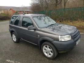 LAND ROVER FREELANDER 1.8 ES NEW MOT LEATHER CD ROOF BARS TOWBAR