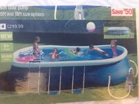 15ft swimming pool with pump