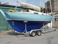 Contessa 26 Classic offshore sailing yacht. Boat
