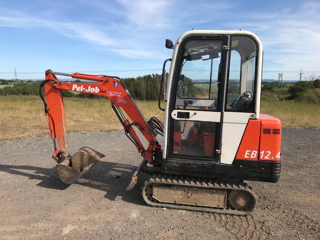 Hitachi Pel Job Mini Digger Jcb In Stockton On Tees County Durham Fuse Box Location