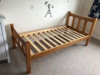 Single pine bed - brand new