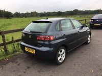 MID MONTH SALE 2005 Seat Ibiza SX 1,4 litre 5dr 2 owners FSH