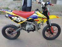 170cc detroit stomp welsh pit bike fasttt! Mintt!! Pitbike dirt bike scrambler crosser off road midi