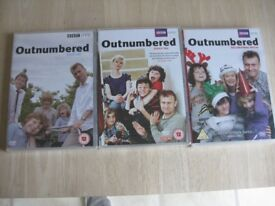 OUTNUMBERED DVD's - Series 1, 2 and The Christmas Special - Brand New Sealed in Original Packaging