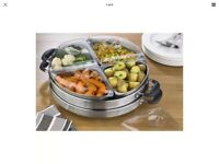 Lazy Susan buffet server