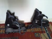 USED ROLLER BLADES SHOES SIZE 6