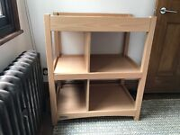 Mama and Papa Wooden Baby Changing Table: Excellent condition