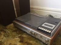 Vintage 1970s Sony Music centre HMK-77 including speakers