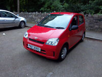 2005 DAIHATSU CHARADE WITH FULL MOT . ONLY £ 30 PER YEAR ROAD TAX not fiesta corsa or clio