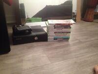 xBox 360 noir avec jeux et manette a vendre !