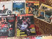 6x Superbike Magazines from 1977
