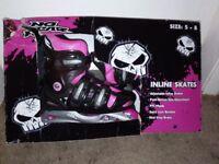 inline skates size 5 to 8