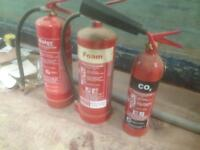 Fire Extinguishers for sale.