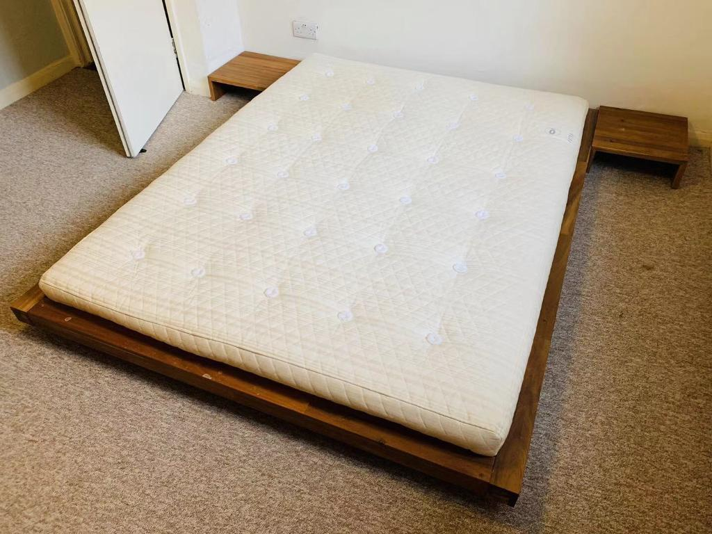 Futon Company Low Base King Size Double Bed Deliver In Cambridge