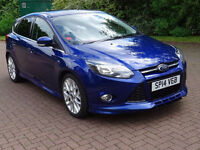 FORD FOCUS 1.6 ZETEC S TDCI 5d 113 BHP GREAT EXAMPLE OF VERY LOW MILEAGE FULL SERVICE HISTORY