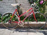Vintage Peugeot 5 speed bike