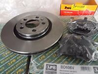 VW/Audi Brake Disc and Brake Pads