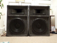 2x300w passive speakers made by definitive technologies 2x250w passive speakers made by skytronic