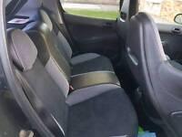 Peugeot 206 gti seats