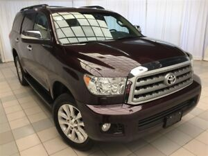 2015 Toyota Sequoia Platinum Package: 1 Owner, Fully Optioned.