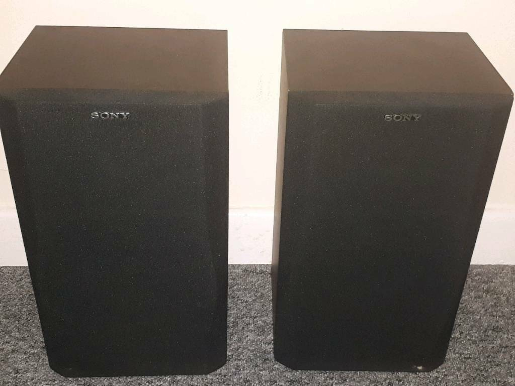 Sony 2 way speakers