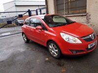 For Sale Vauxhall Corsa Design 1.3 Diesel year 2008 12 Months MOT&History service.....!!!!!