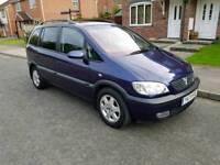 Vauxhall zafira 2.2 full service history n mot