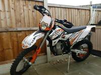 KTM EXC 250 WITH 530R ENGINE MOTOCROSS SUPERMOTO MX ENDURO CRF YZF RMZ KXF CR YZ KX RM BIKE