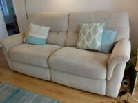 G Plan 3 seater couch and armchair -