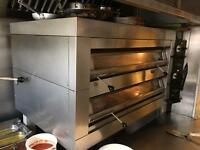 Pizza oven professional for restaurant
