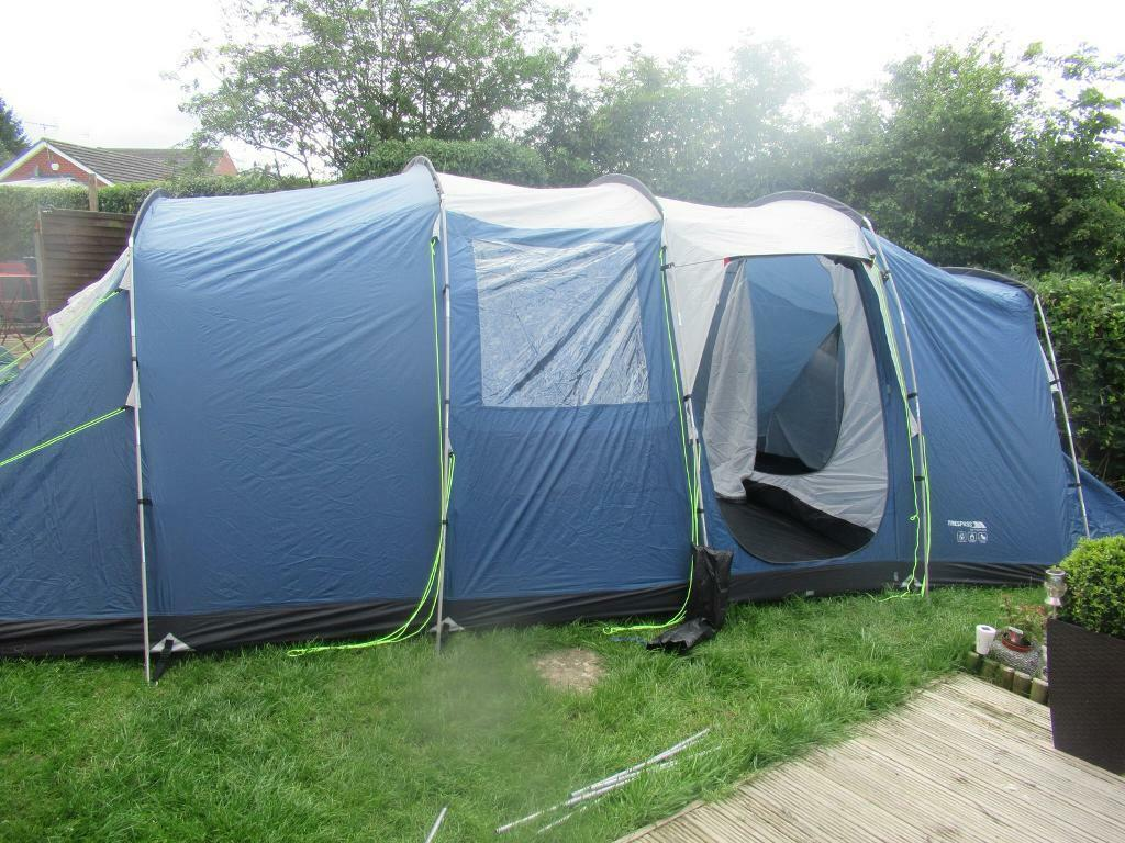 Trespass go further 8 man tent | in Nottingham, Nottinghamshire | Gumtree