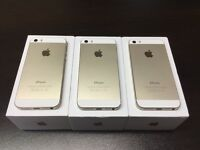 iPhone 5s 32gb unlocked gold good condition with warranty and accessories