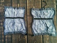 NEW - Grey gaiters (spats)