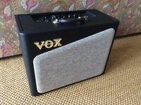 Vox AV15 guitar amp. (Pretty much brand new.)