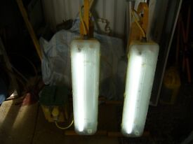 110 volt lights and transformer