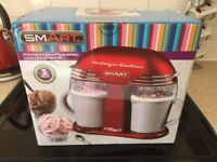 BNIB 50's Style Double Ice-Cream Maker.