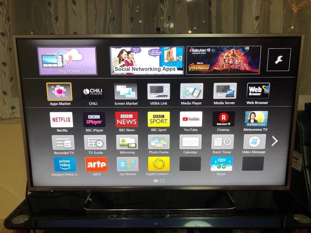 Panasonic VIERA 42 inch 3D LED Smart TV 1080p HD Freeview HD freesat HD    in Washwood Heath, West Midlands   Gumtree