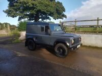 Landrover Defender 200 tdi on Galvanised chassis