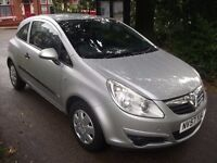 Vauxhall Corsa 1.0 i 12v Life 3dr£2,000 VERY REAR SPECS, IDEAL IST CAR 2007 (57 reg), Hatchback