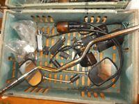Motorcycle Parts from Honda Bros and CB-1 Front Mudguard