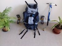 RUCKSACK [wilderness 55] ICE AXE [mountain technology ] SET OF CRAMPONS