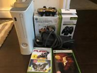 XBOX 360 White 120 GB bundle
