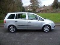 Vauxhall Zafira 1.6 Life, New shape, FSH, Low Mileage, 7 Seats, Excellent condition throughout