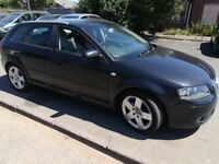 Zafira now sold , BUT DO HAVE A AUDI A3, 2005, Drives Great, Black 5 Door, Alloy wheels