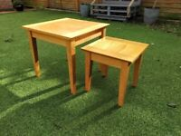 Nested Coffee Side Tables