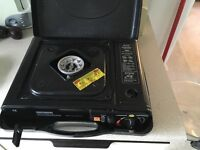 Portable gas stove from Halfords